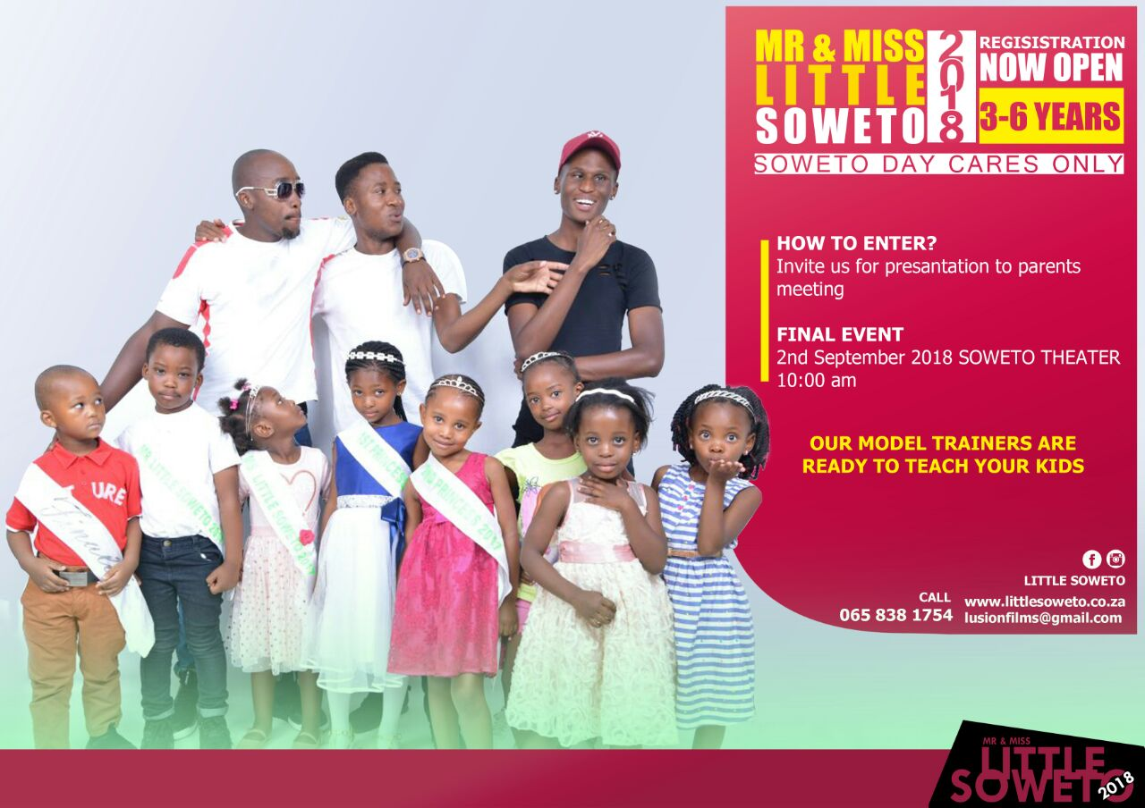 We are proud to sponsor Little Soweto 2018 pageant
